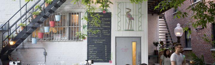 La magnifique terrasse du restaurant Agrikol