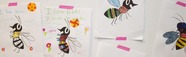 Lancement l'abeille à miel